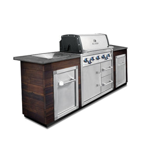 Broil King Imperial 590 Natural Gas Built In BBQ with Cabinets - Gardenbox
