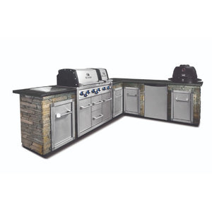 Broil King Imperial XLS 6 Burner Built In Gas BBQ with Cabinets - Gardenbox