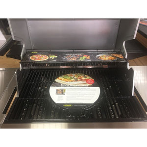 Outback Jupiter 4 Stainless Steel Hybrid Gas BBQ - Free Pair of Pizza Stones - Gardenbox