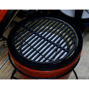 Kamado Joe Junior Cast Iron Griddle - Gardenbox
