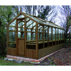 Swallow Kingfisher 6x18 Wooden Greenhouse