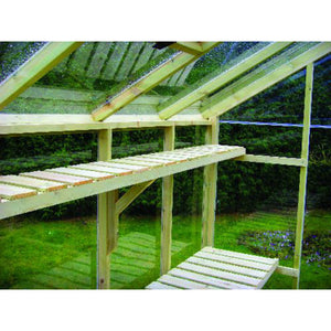 Swallow Kingfisher Greenhouse High Level Shelf - 6x8 - Gardenbox