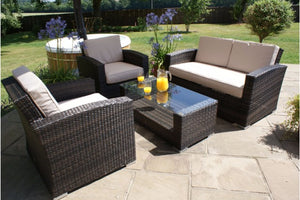 Kingston 2 Seat Sofa Set by Maze Rattan - Gardenbox
