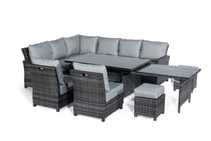 Extending Kingston Corner Dining Set by Maze Rattan