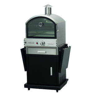 Lifestyle Appliances Deluxe Black Gas Garden Pizza Oven - Gardenbox