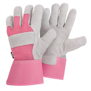 Ladies Protective Rigger Gardening Gloves - Size Medium - Gardenbox