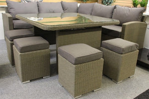 Bespoke Casual Dining Set Slate by Alexander Rose - Gardenbox