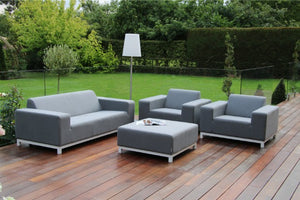 Devane 2 Seater Weatherproof Outdoor Sofa Set by Maze Rattan - Gardenbox