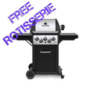 Broil King Monarch 390 3 Burner Gas BBQ | Rule of Six Bundle