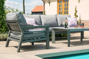 New York 3 Seat Sofa Set by Maze Rattan - Gardenbox