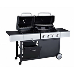 Outback 4 Burner Gas & Charcoal Dual Fuel BBQ - Gardenbox