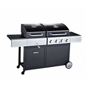 Dual Fuel 4 Burner Combi BBQ by Outback