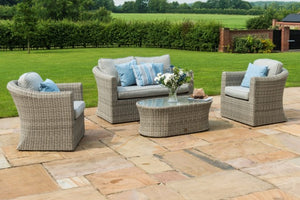 Oxford 2 Seater Sofa Set by Maze Rattan - Gardenbox