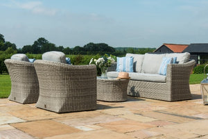 Oxford 3 Seater Sofa Set by Maze Rattan - Gardenbox