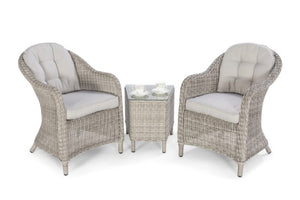 Oxford 3 Piece Lounge Set by Maze Rattan - Gardenbox