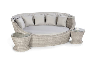 Oxford Daybed with Side Tables by Maze Rattan - Gardenbox
