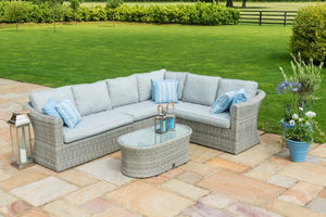 Oxford Large Corner Group by Maze Rattan - Gardenbox