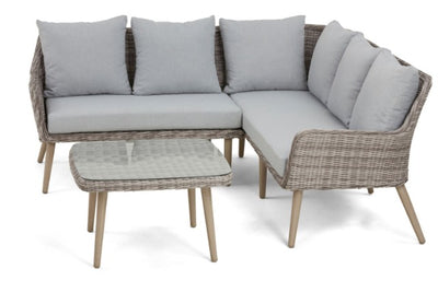 Paris Small Corner Sofa Set By Maze Rattan