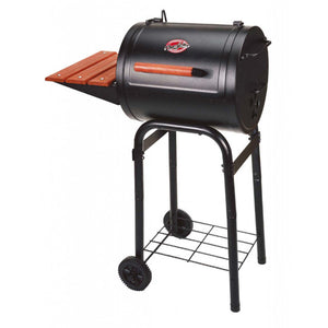 Char-Griller Patio Pro Charcoal BBQ and Smoker - Heavy Duty Grill ideal if space is limited - Gardenbox