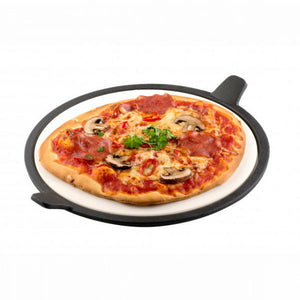Tepro BBQ Pizza Stone cooks authentic stone baked Pizza