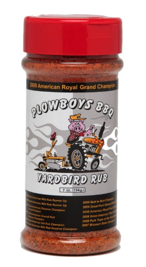 Plowboys BBQ 'Yardbird' Barbecue Rub