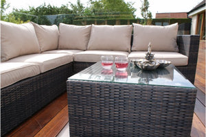 Porto Corner Sofa Set by Maze Rattan