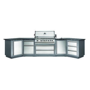 Napoleon Prestige Pro 665 Ultimate Outdoor Kitchen Gas Barbecue