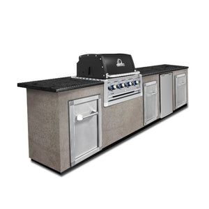 Broil King Regal 420 4 Burner Built In Natural Gas BBQ - Gardenbox