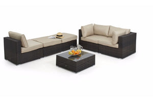 Rio Corner Sofa Set by Maze Rattan