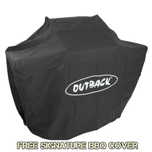 Genuine Outback Cover to fit Signature 4 & 6 Burner Gas BBQ - Gardenbox