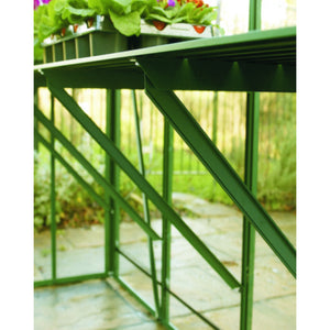 Genuine Elite Greenhouses Aluminium Diamond Staging - Choice of Sizes and Colours - 2 Slat & 3 Slat Model - Gardenbox