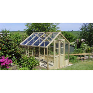 Swallow Wooden Greenhouses are hand made in the UK