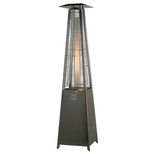 Lifestyle Tahiti Flame Gas Heater with Flame Chamber