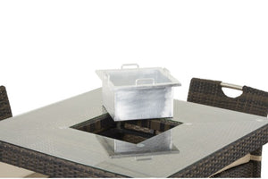4 Seat Bar Set with Ice Bucket by Maze Rattan - Gardenbox