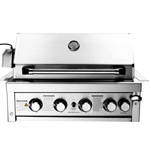 Whistler Tetbury 4 Burner Built In Gas Barbecue