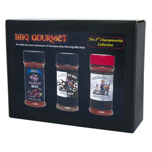 BBQ Rub Gift Pack | The 2nd Championship - Gardenbox