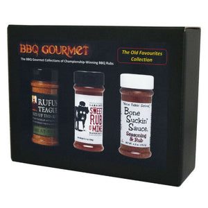 BBQ Rub Gift Pack | The Old Favourites BBQ Collection - Gardenbox