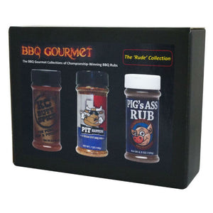BBQ Rub Gift Pack | The Rude Collection - Gardenbox
