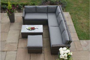 Victoria Large Corner Group by Maze Rattan - Gardenbox