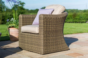 Winchester Small Corner Group With Armchair by Maze Rattan - Gardenbox