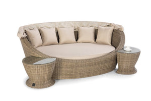 Winchester Daybed with Side Tables by Maze Rattan - Gardenbox