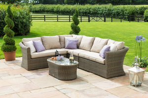 Winchester Large Corner Group by Maze Rattan - Gardenbox