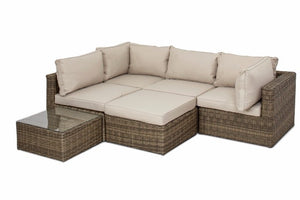 Winchester Square Corner Sofa Group by Maze Rattan - Gardenbox