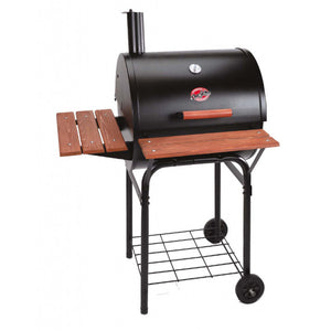 Char-Griller Wrangler Charcoal BBQ and Smoker - Large Heavy Duty Grill - Gardenbox