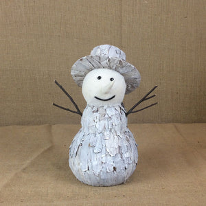 Charming Christmas Snowman Figurine Decoration - Gardenbox