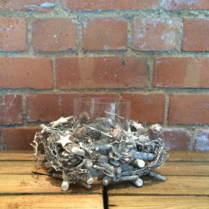 Rustic Candle Holder Table Decoration - Choice of Styles - Gardenbox