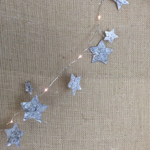 Garland Star Decoration with LED Lights - Gardenbox