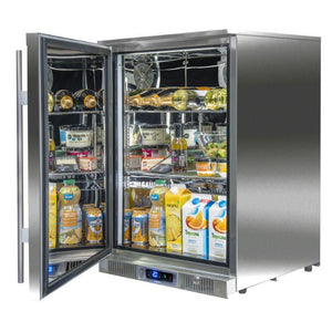Outdoor Rated Single Fridge for Outdoor Kitchen by Blastcool - Gardenbox