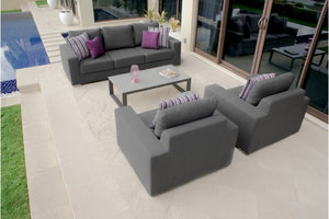 Zen 3 Seater Weatherproof Outdoor Sofa Set by Maze Rattan - Gardenbox