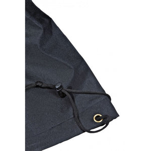 BBQ Cover High Quality Material Finished in Black in a Choice of Sizes - Gardenbox